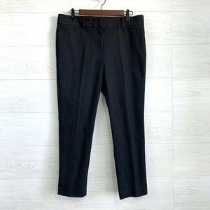 LOFT Marisa Flat Front Skinny Leg Cropped Trouser